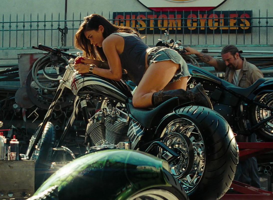 Megan Fox Transformers 2 Motorcycle