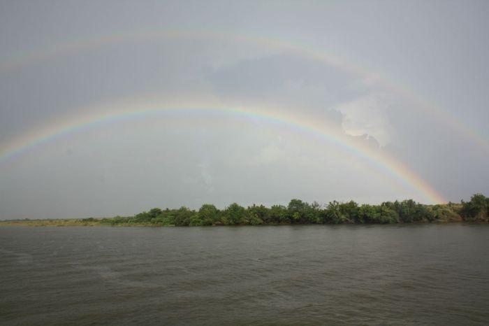 Double Rainbow Over Lake Borgne