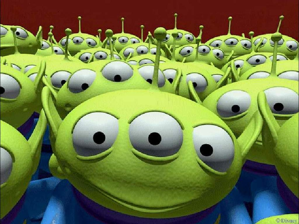 Toy Story Aliens