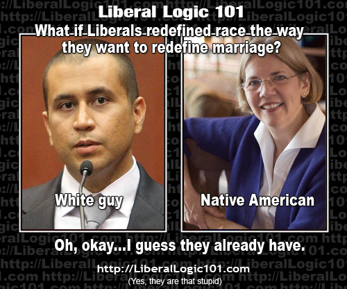 """Hypocrisy And Double Standards >> Liberal """"Logic"""" — in Pictures 
