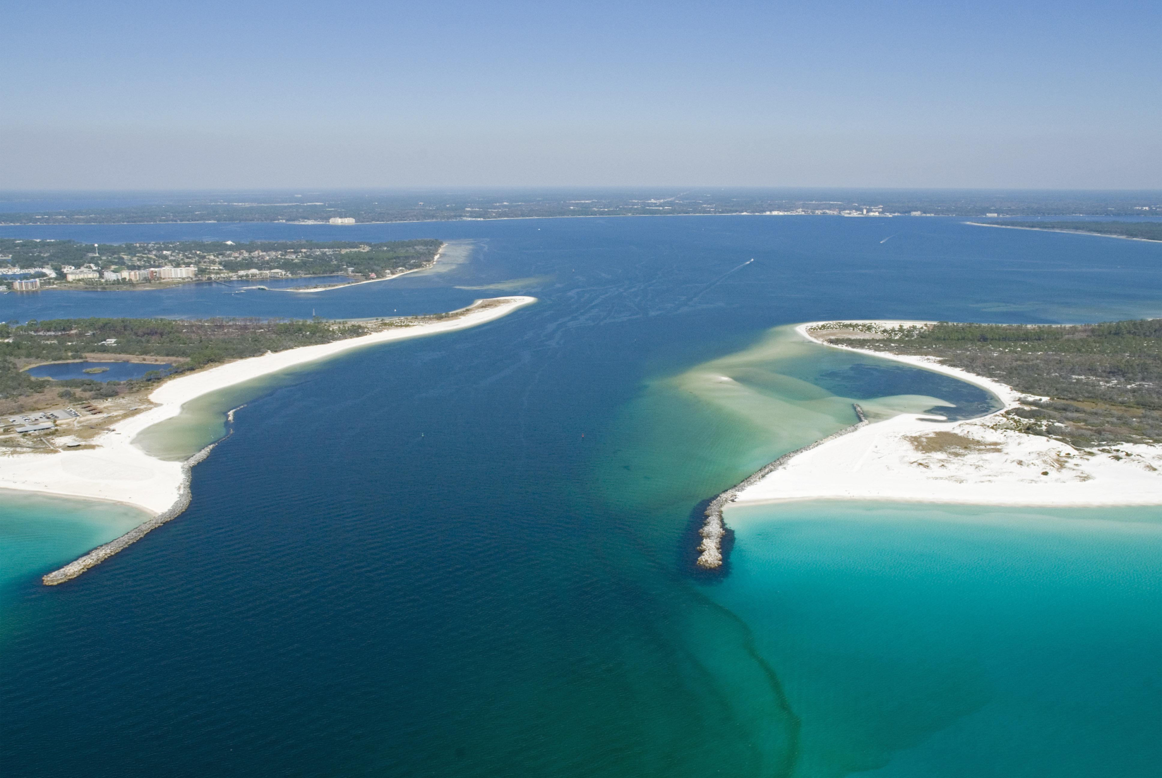 Shell Island Beach Bay County