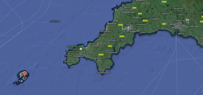 scilly   Google Maps
