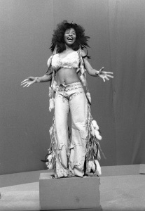 Rufus June 26, 1975  Chaka Khan / Rufus     Photo: Peter Mazel/ Sunshine Photo /
