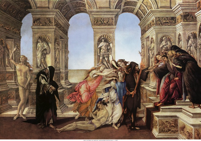 c. 1495 Tempera on wood, 62 × 91 cm Galleria degli Uffizi, Florence Digital restoration: Dale Cotton, http://daystarvisions.com