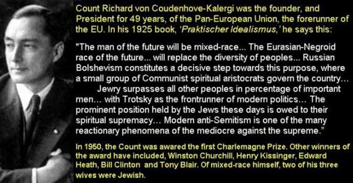 Image result for coudenhove kalergi plan